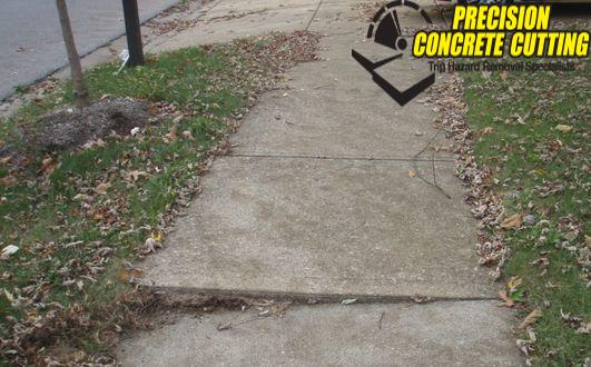 Sidewalk Repair Trip Hazard in San Francisco