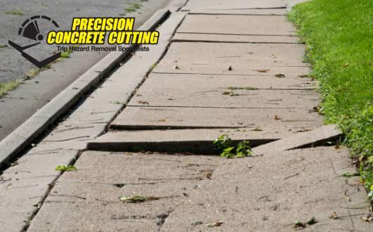 Fixing Uneven Concrete Sidewalk